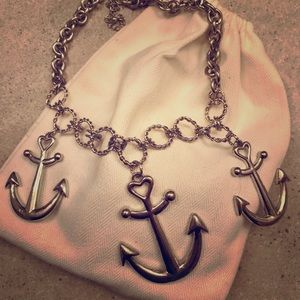Anchor Necklace, Costume Jewelry